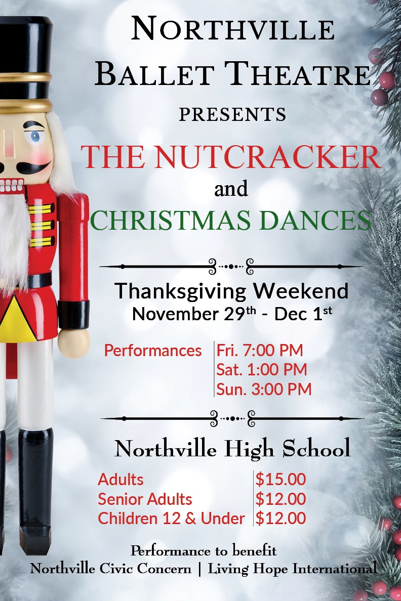 Northville Ballet Theatre Presents The Nutcracker And Christmas Dances
